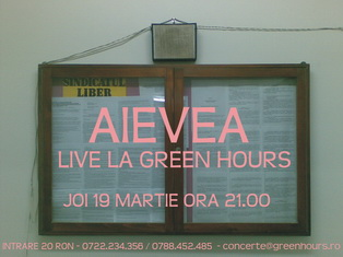 Aievea la Green Hours